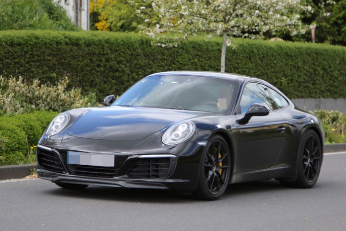 Porsche 911 facelift 2016 spy photos (9)