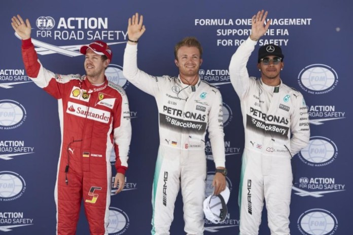 Rosberg-Hamilton-Vettel