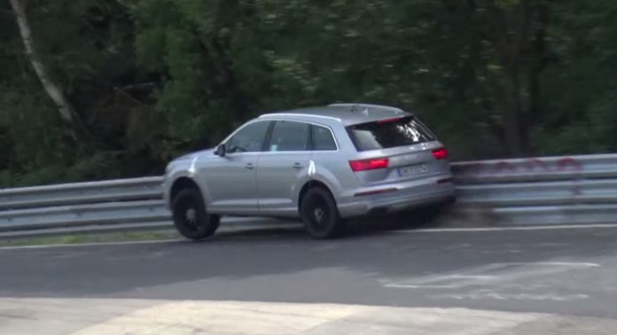 2016 Audi SQ7 CRASH at the Nurburgring