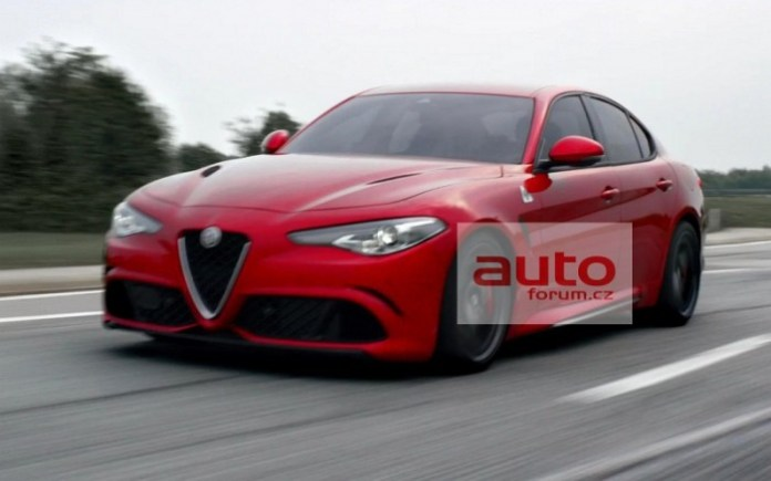 Alfa Romeo Giulia QV Leaked Photos (1)