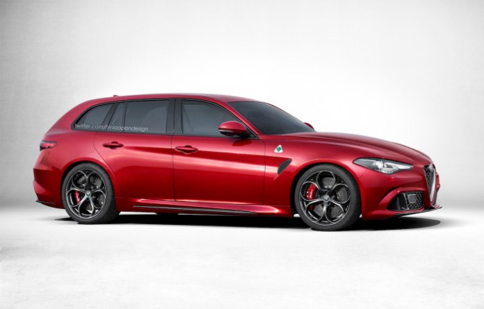 Alfa Romeo Giulia Sportwagon renderings (2)