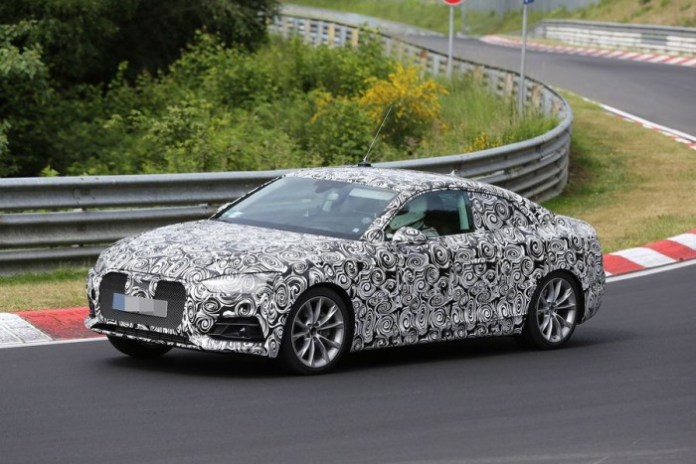 Audi A5 2016 spy photos (3)
