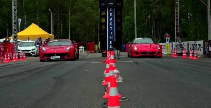 Ferrari F12 Berlinetta Vs Ferrari 599 GTO