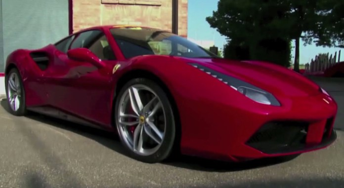 James May drives the 2015 Ferrari 488 GTB