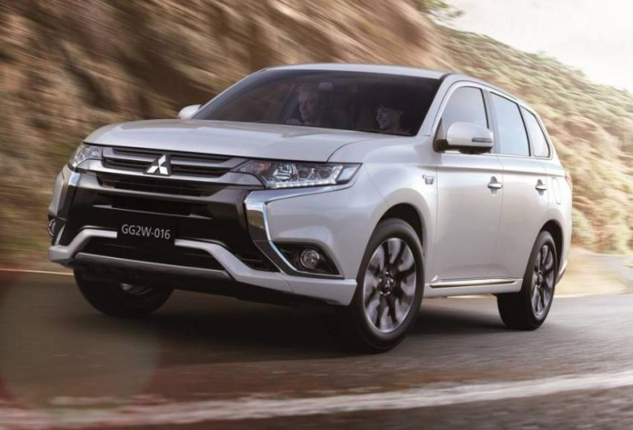 Mitsubishi Outlander PHEV facelift 2016