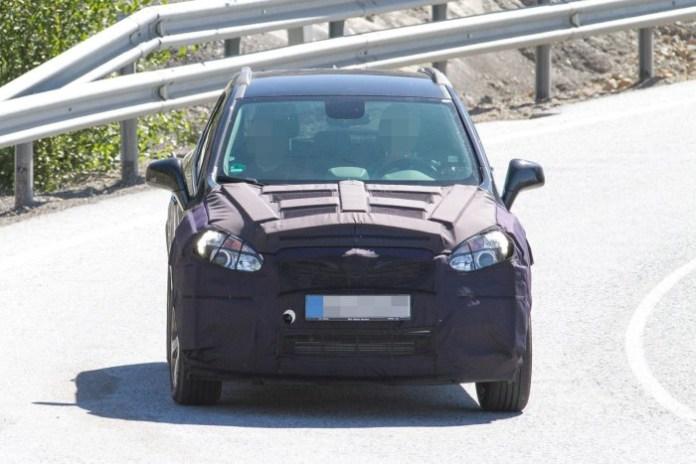 Opel Mokka Facelift spy (1)