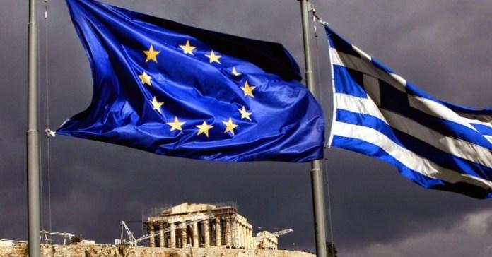 100977018-Greek, EU flag Acropolis.1910x1000
