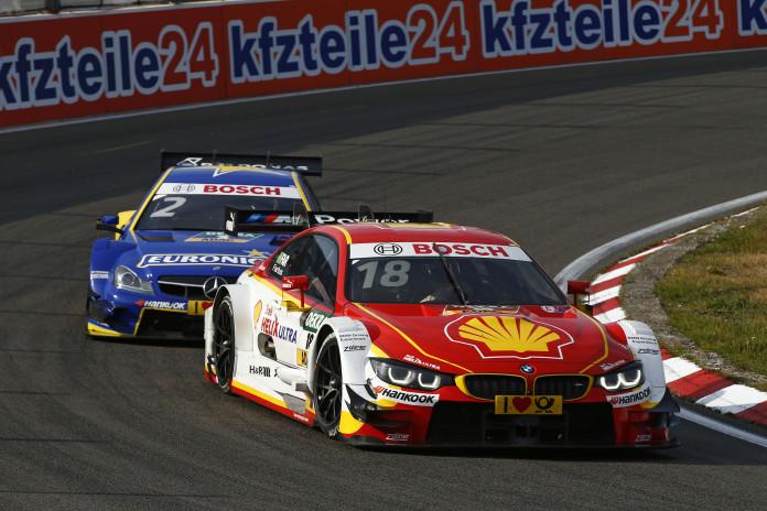 #18 Augusto Farfus, BMW M4 DTM, #2 Gary Paffett, Mercedes-AMG C 63 DTM