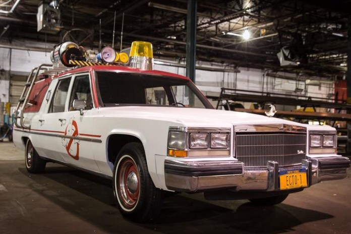 Ecto-1 from Ghostbusters reboot