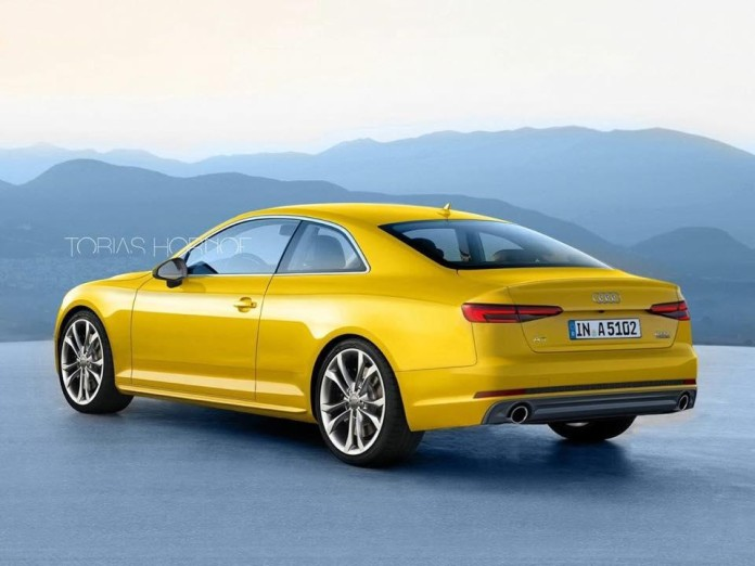 2017 Audi A5 Coupe render (1)