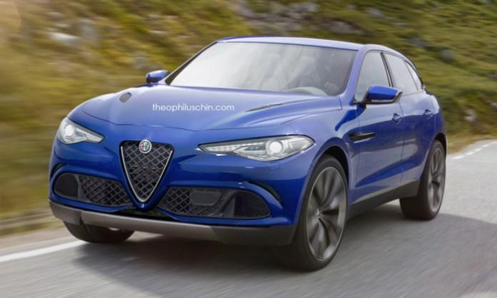 Alfa Romeo SUV Renderings (1)