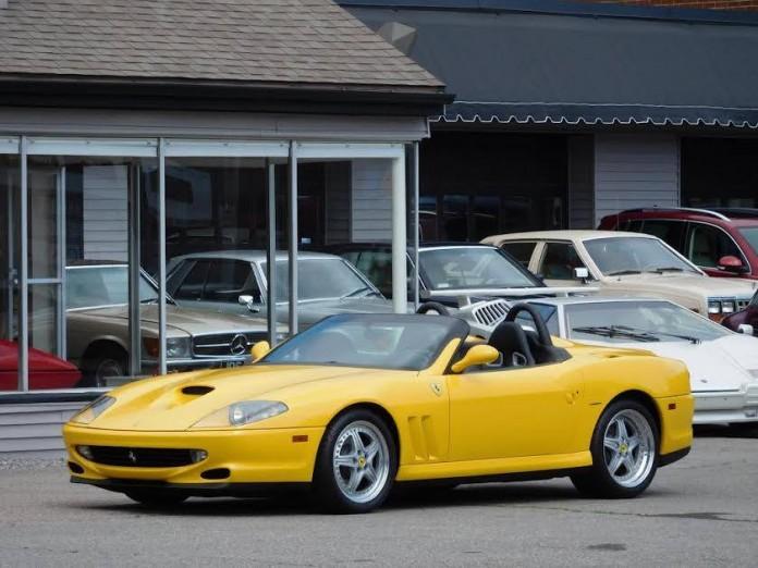 Ferrari 550 Barchetta (2)