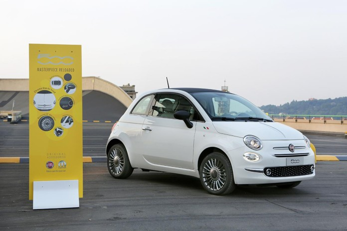 Fiat 500 facelift by Mopar