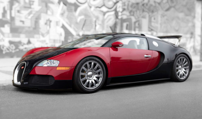 First Bugatti Veyron for auction (1)
