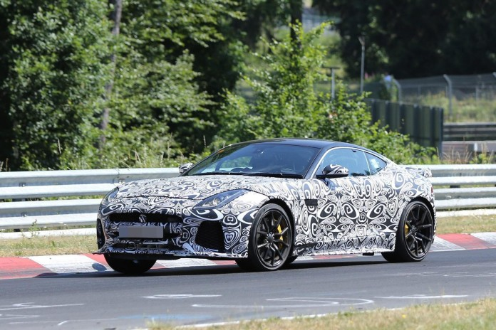 Jaguar F-Type SVR Spy Photos (1)