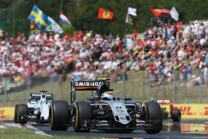 Motor Racing - Formula One World Championship - Hungarian Grand Prix - Race Day - Budapest, Hungary