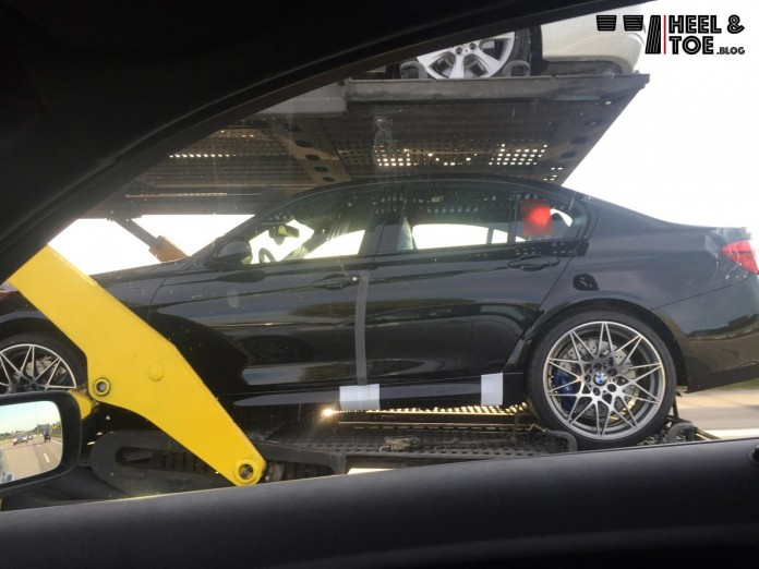 BMW M3 Competition Package spy photo (1)