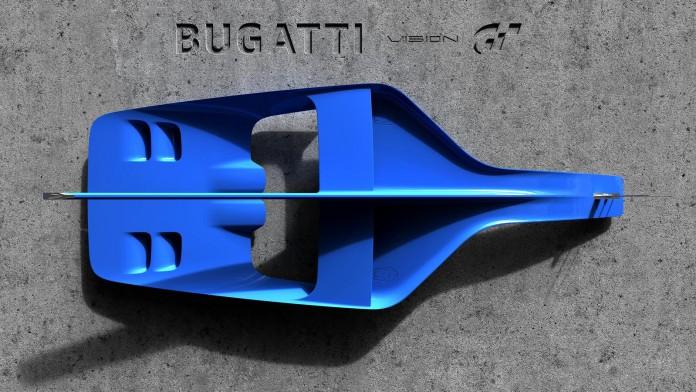 Bugatti Vision Gran Turismo air inlet