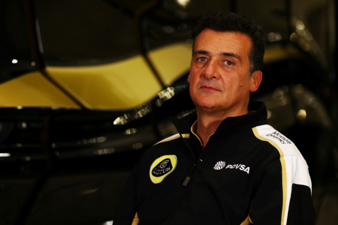 Motor Racing - Lotus F1 Team Studio Shoot - Enstone, England
