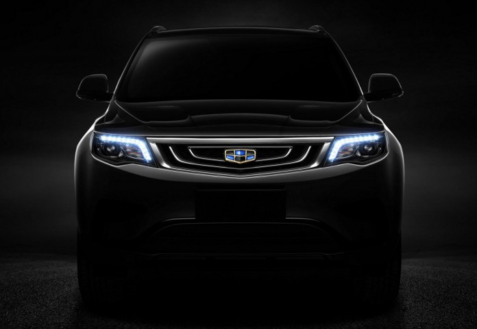 Geely SUV teaser image (3)