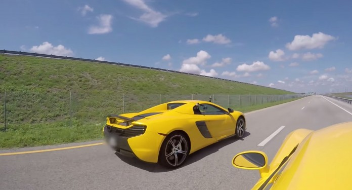 McLaren 650S vs 2014 Dodge Viper GTS