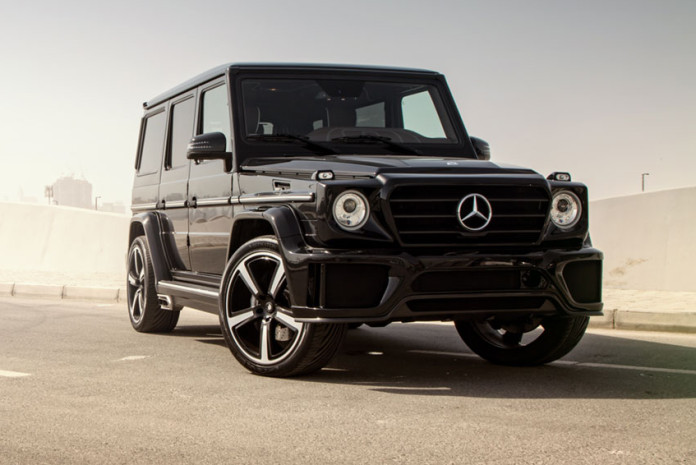 Mercedes G63 AMG by Ares Design (1)