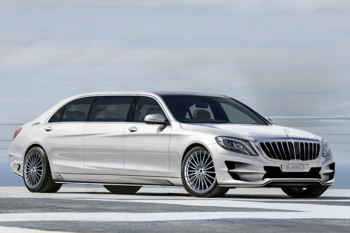Mercedes S-Class by Ares Design (4)