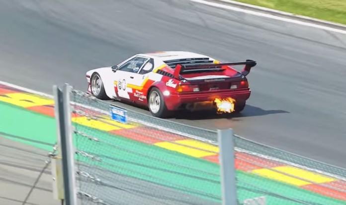 bmw m1 procar fire