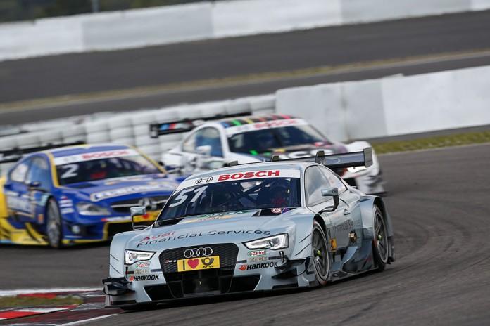 Motorsports: DTM race Nuerburgring, #51 Nico Mueller (SUI, Audi Sport Team Rosberg, Audi RS5 DTM)