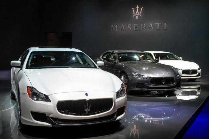 2016 Maserati Ghibli & Quattroport live in Frankfurt 1