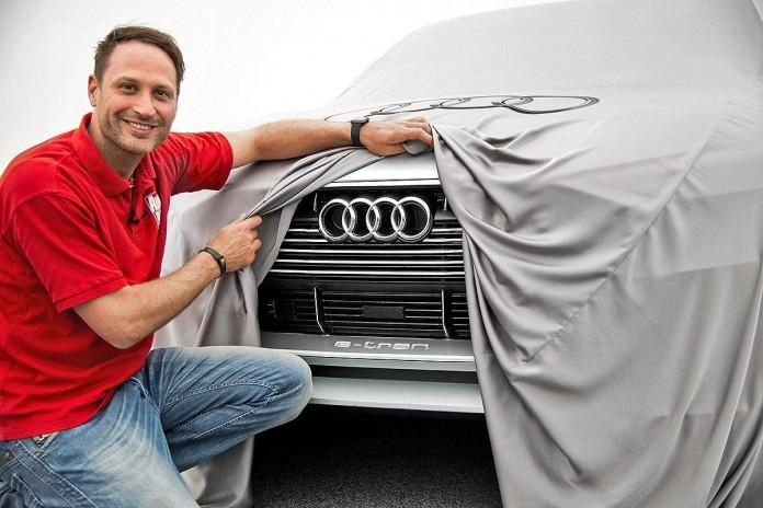 Audi e-tron quattro teaser image 1
