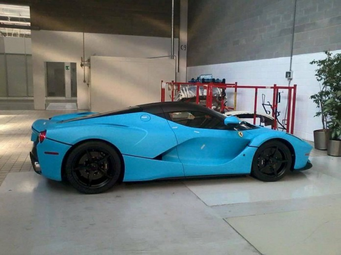 Blue-Ferrari-LaFerrar