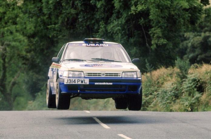 Colin McRae Derek Ringer, Prodrive Subaru Legacy RS, Manx Rally, 1992