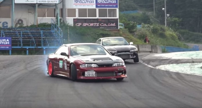 Fixing and drifting a Skyline at Ebisu Circuit