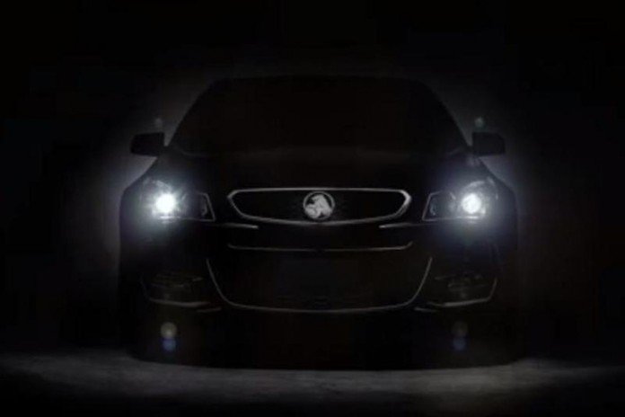 Holden Commodore VFII teased (2)