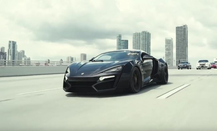 Lykan HyperSport Taking Over Miami
