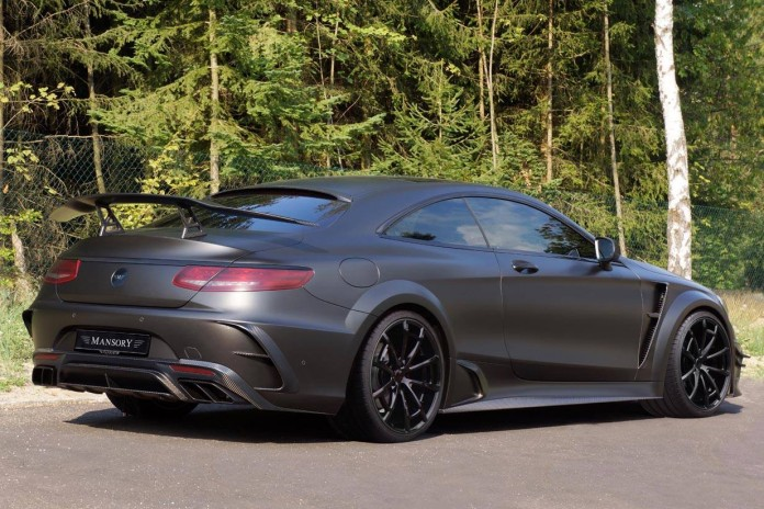 Mercedes-AMG S63 Coupe Black Edition by Mansory (2)