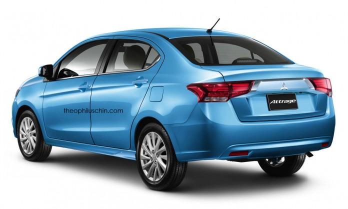 Mitsubishi Attrage Facelift 2