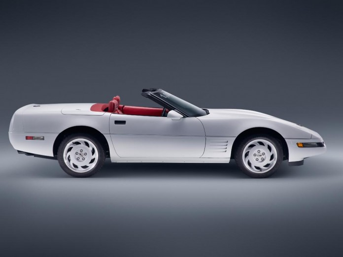One Millionth Chevrolet Corvette 1