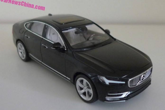 Volvo S90 Onyx Black scale model (1)