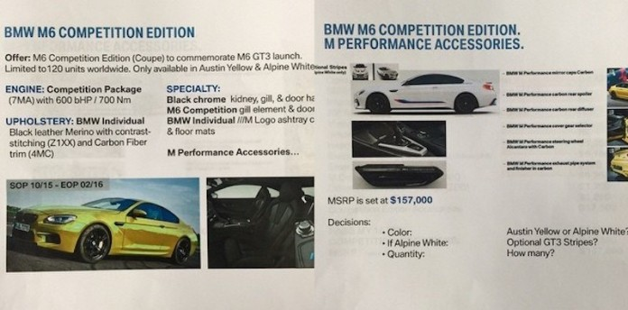 bmw m6 competition 1