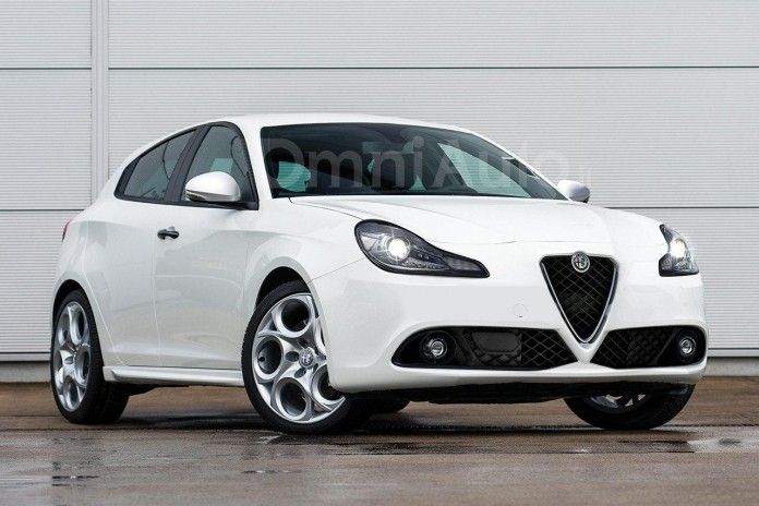Alfa Romeo Giulietta facelift rendering (1)