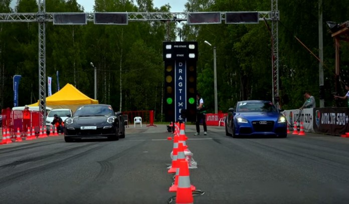 Audi TT RS vs Porsche 911 Turbo S