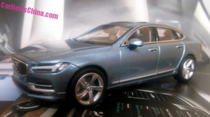 Volvo S90 scale model (2)
