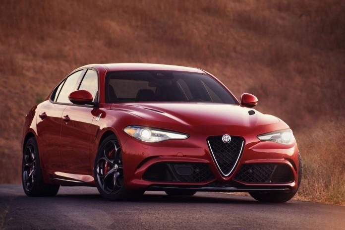 Alfa Romeo Giulia US spec 50