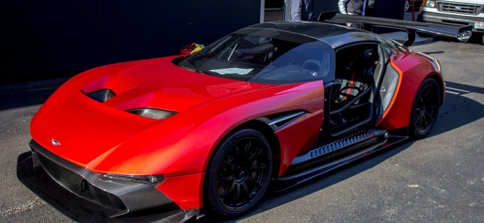 Aston Martin Vulcan in Red color (2)