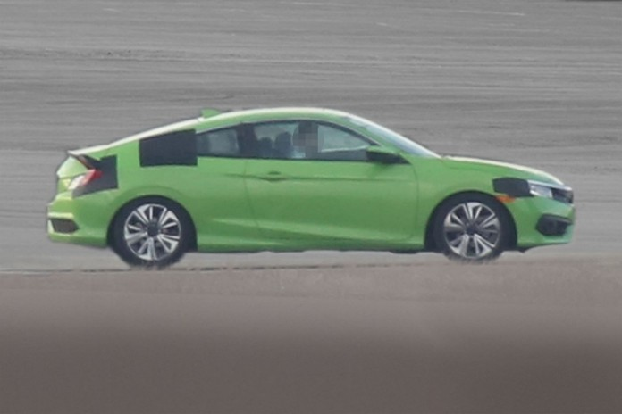 Honda Civic Coupe spy photos (2)