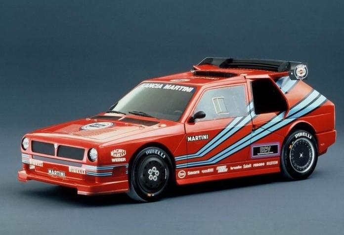 Lancia ECV prototype rallycar