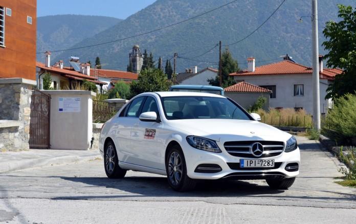 Mercedes-Benz C-Class C200 BlueTEC Test Drive (18)