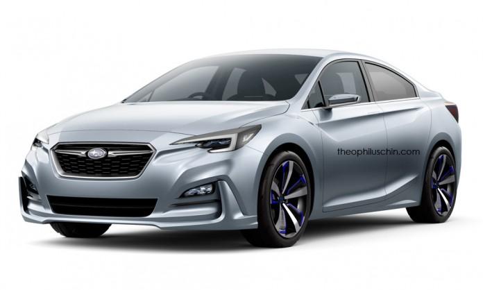 Subaru Impreza Sedan concept 1